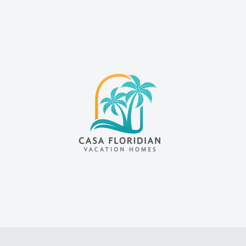 Vacation logo with the title 'CasaFloridian.com'
