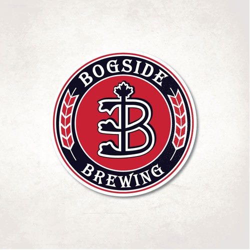 Traditional logo with the title 'Bogside'