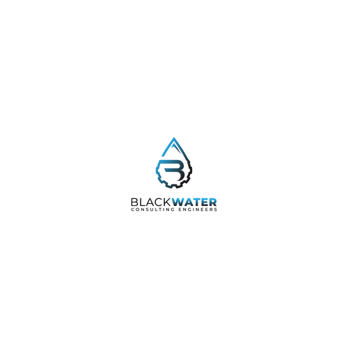 Flood logo with the title 'BlackWater'