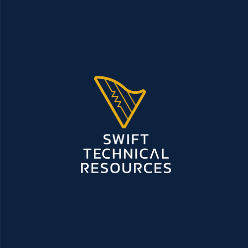 Spring design with the title 'Swift Technical Resources Logo'