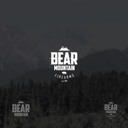 Alaska logo with the title 'Bear Mountain Firearms'
