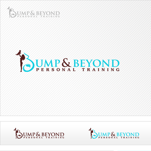Fitness logo with the title 'Bump & Beyond Personal Training needs a new logo'