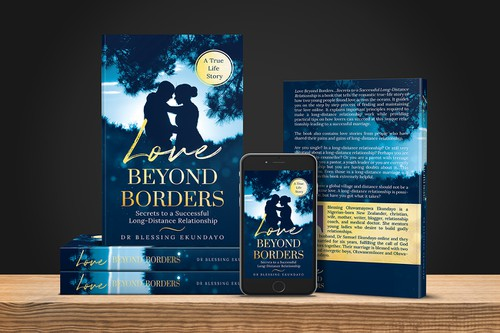Simple book cover with the title 'Love Beyond Borders'