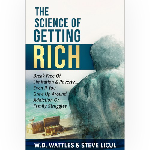 Statue design with the title 'The Science Of Getting Rich'