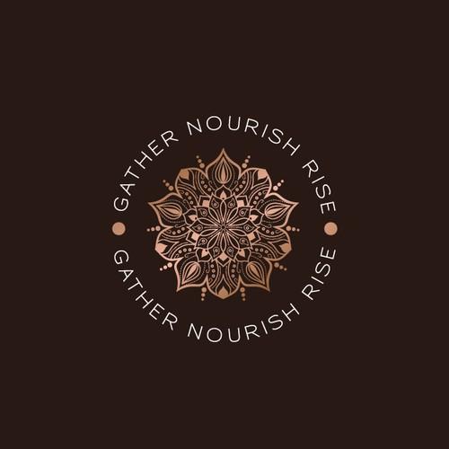 Spiritual logo with the title 'Awsome Logo Design!'