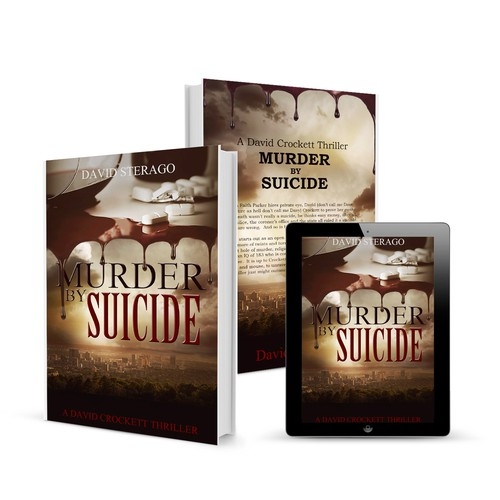 Suicide design with the title 'Murder by Suicide'