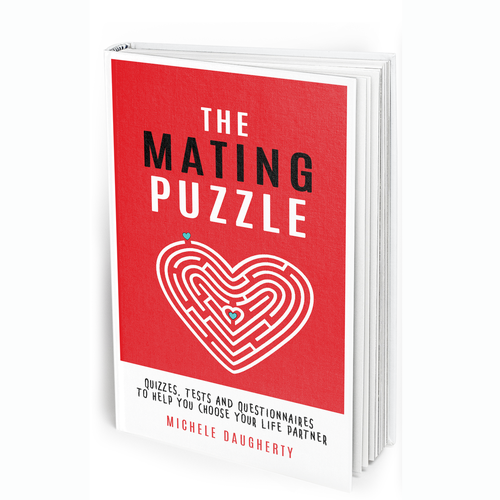 Maze design with the title 'Dating book'