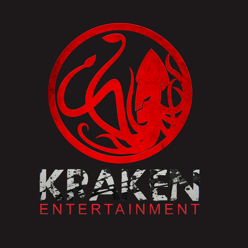 Squid logo with the title 'Help Kraken-Entertainment with a new logo'