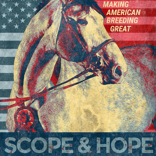 Hope design with the title 'Equine Magazine Ad - Scope and Hope! '