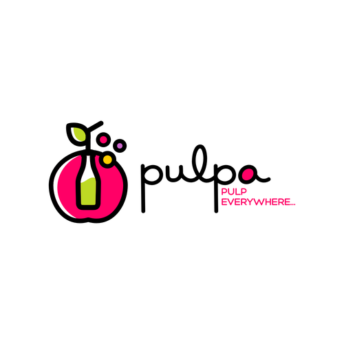 Nectar logo with the title 'Winning Logo for Pulpa - Juice bar'