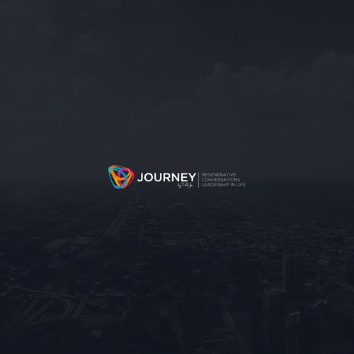 Edgy logo with the title 'Logo for JOURNEY'