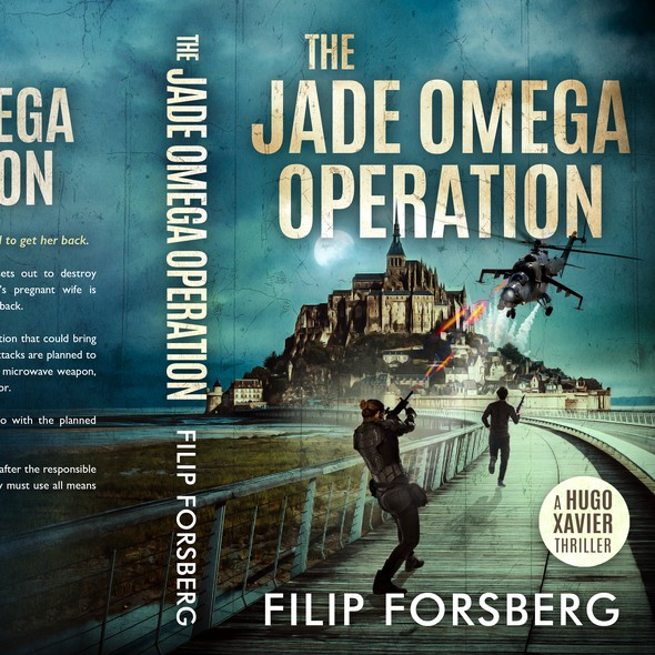 Action design with the title 'The Jade Omega Operation'