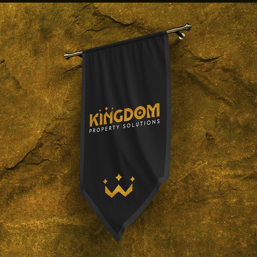 Kingdom design with the title 'Kingdom Property Solutions'