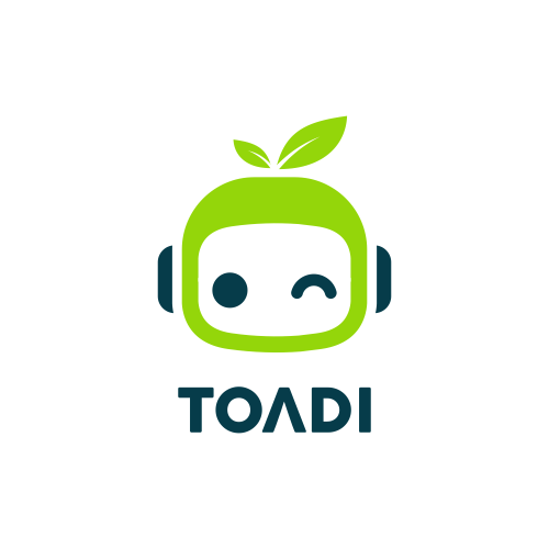Leaf brand with the title 'Toadi '