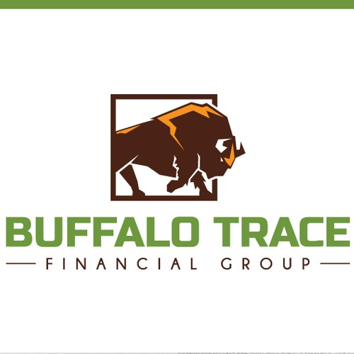 Bull design with the title 'Buffalo Trace Financial Group'