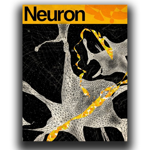 Science illustration with the title 'Neuron'