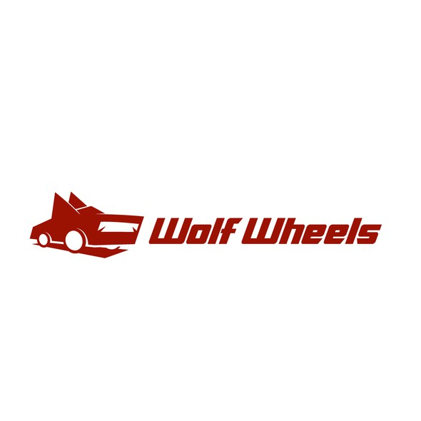 Wheel logo with the title 'Wolf Wheels'