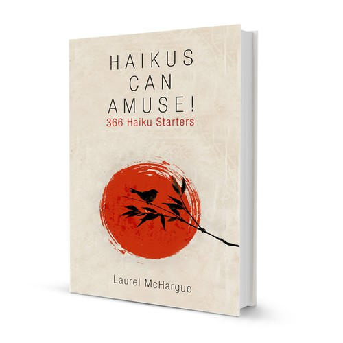 Bamboo design with the title 'Simple cover design for HAIKUS'