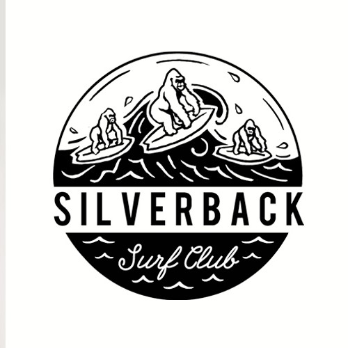Sportswear logo with the title 'LOGO DESIGN for a Surf Brand'