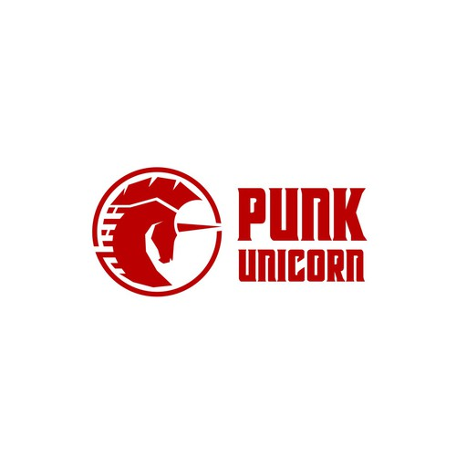 Unicorn logo with the title 'Punk Unicorn'