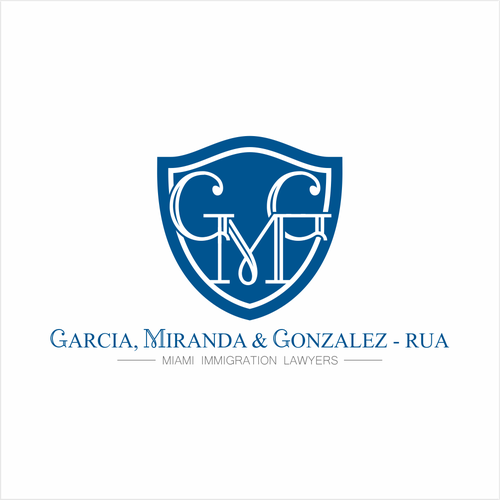 Migration logo with the title 'Concept Logo for GMG Lawyers'