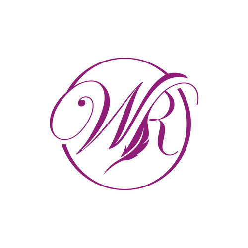 Writer logo with the title 'WR LOGO'