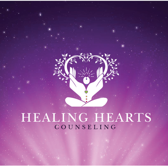 Reiki design with the title 'Logo for Mental health counseling center'