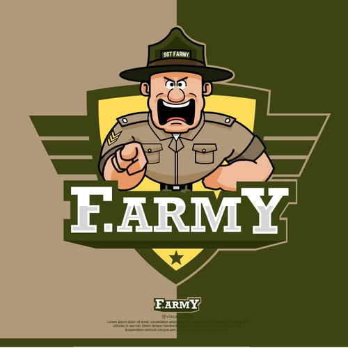 Flash logo with the title 'F.Army'