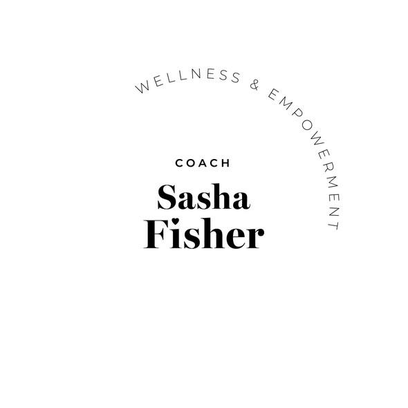 Empowerment logo with the title 'Sasha Fisher logo'