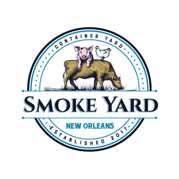 Yard design with the title 'Smoke Yard'