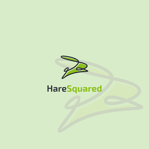 Hare logo with the title 'hare square'