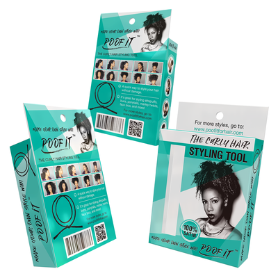 Package Design for Hair Accessory.