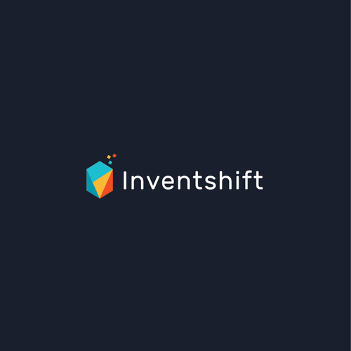Data center logo with the title 'Inventshift Logo'