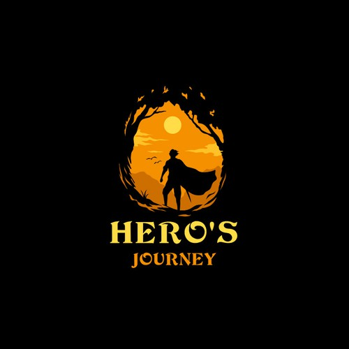 Journey logo with the title 'Hero's Journey'