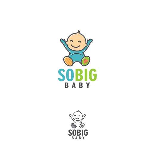 Baby boutique design with the title 'So Big Baby'