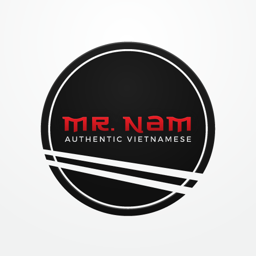 Dish design with the title 'Logo for a Vietnamese restaurant'