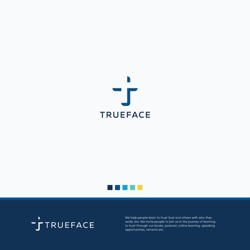 Trust logo with the title 'Trueface'