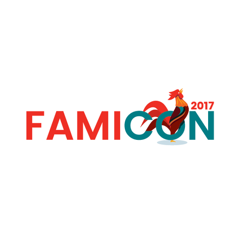 Conference logo with the title 'Famicon 2017'