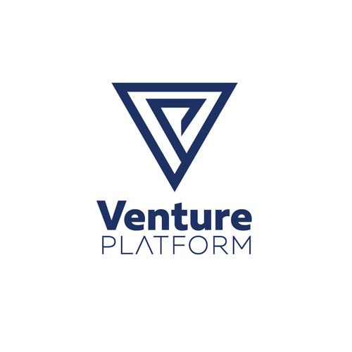 Platform brand with the title 'Venture Platform Logo'