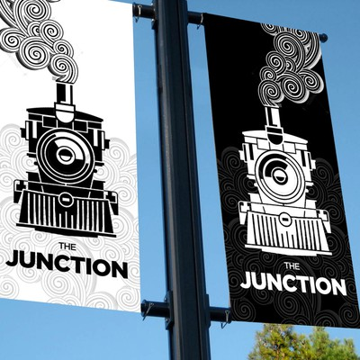 The Junction : Pole Banner Ads