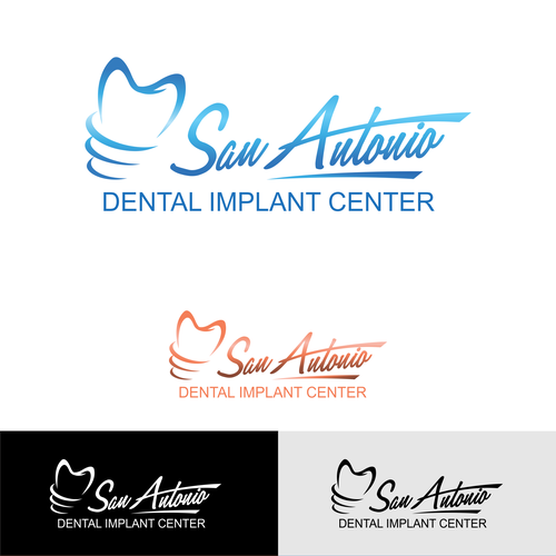 Implant logo with the title 'Dental Implant Business Logo'