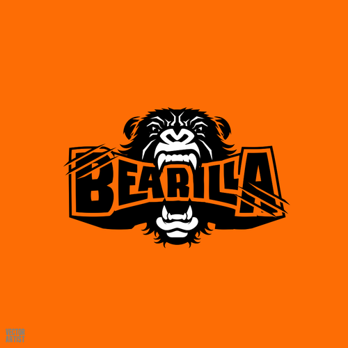 CorelDRAW artwork with the title 'Bearilla'