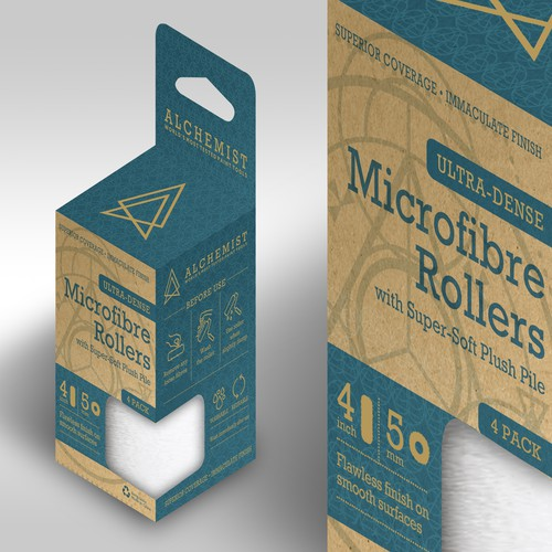 Standout packaging with the title 'Alchemist'