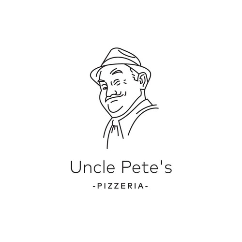 Chicago logo with the title 'logo for pizzeria in chicago'