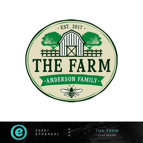 Wasp logo with the title 'The Farm'