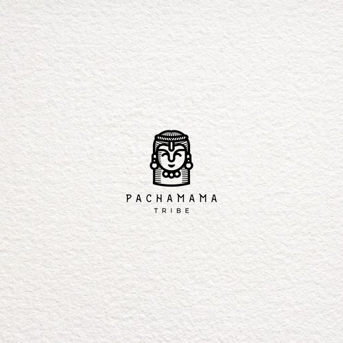Goddess logo with the title 'Pachamama Tribe'