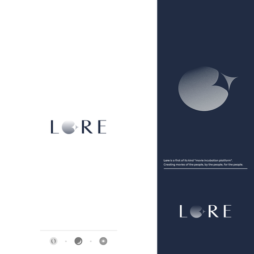 Cinema design with the title 'Lore'