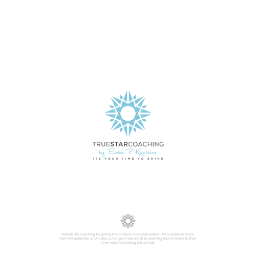 Star brand with the title 'Logo for True Star Coaching'