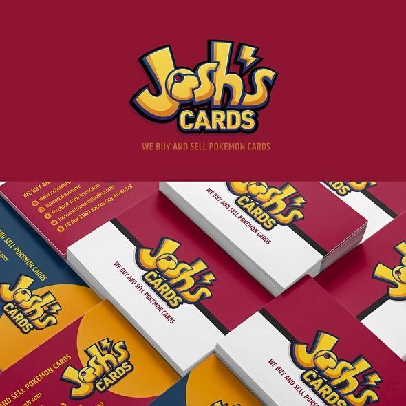 Pokémon design with the title 'Cards'