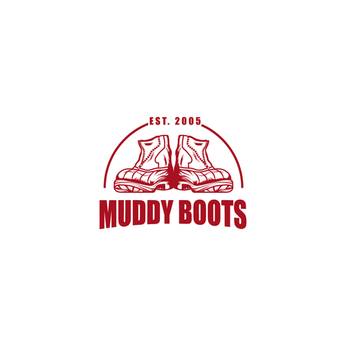Boot design with the title 'boots'